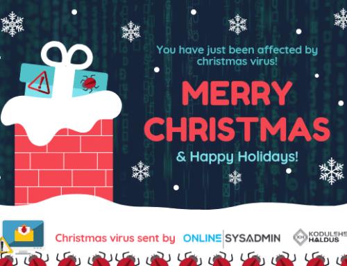 Häid jõule ja ilusat pühade aega!